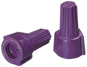 wire nuts purple